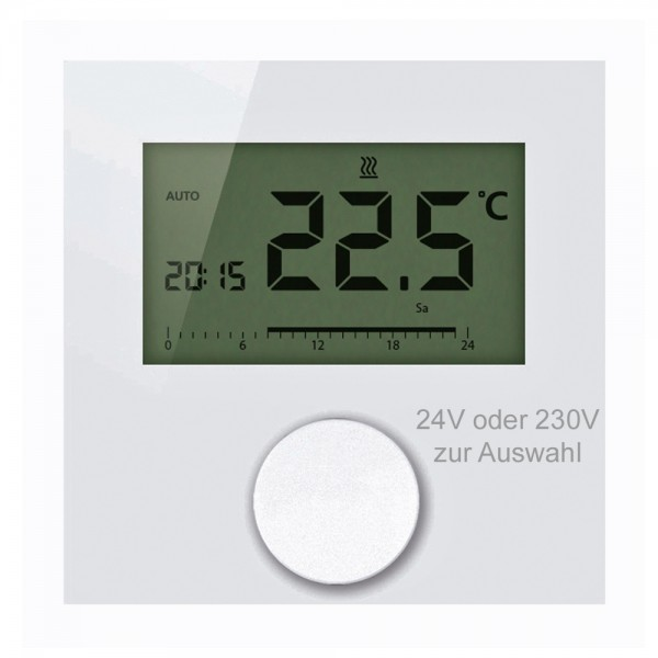 Alpha direct Digital 24V / 230V Raumtemperaturregler Raumthermostat Display
