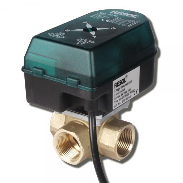 Resol VA32 Umschalt Motorventil DN20 bis DN32 IG Umschaltventil