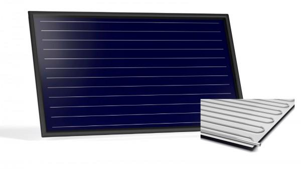 Flachkollektor Sonnenkollektor STI FKF 200H Al/Al (2,13 m²)