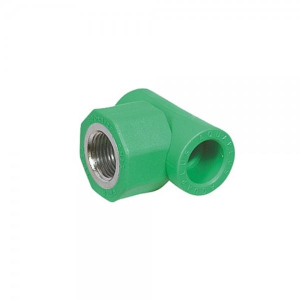 Aqua-Plus - PPR Rohr T-Stück IG, grün