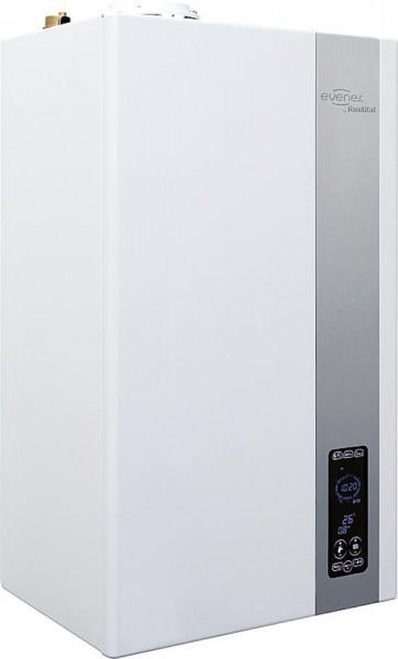 Gas-Brennwertgerät KRB-24 Gastherme 3,2-24,9KW Touchscreen-Oberfläche