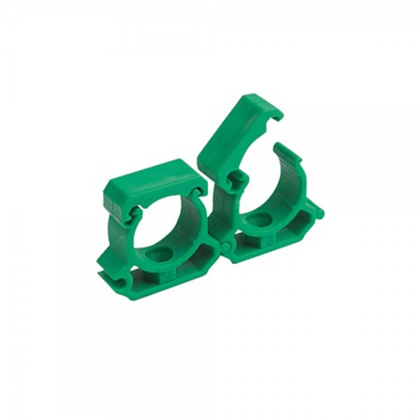 Aqua-Plus - PPR Rohr Halterung d = 20 mm, grün - 240 Stück