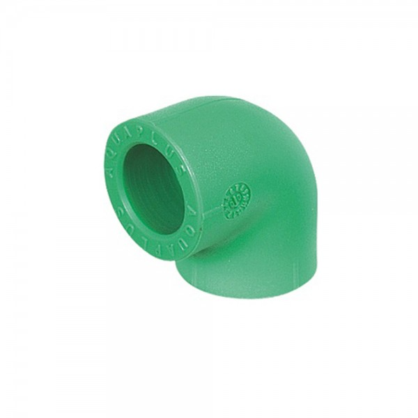 Aqua-Plus - PPR Rohr Winkel 90°, grün