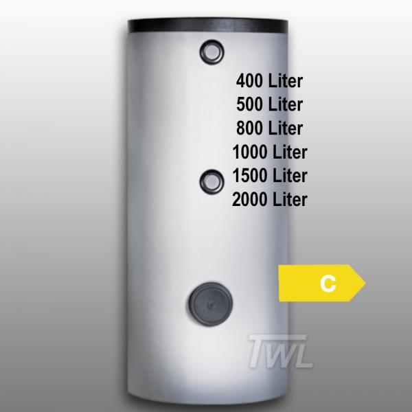 Emailierter Brauchwasserspeicher 2x Wärmetauscher EEK-C Trinkwasserspeicher