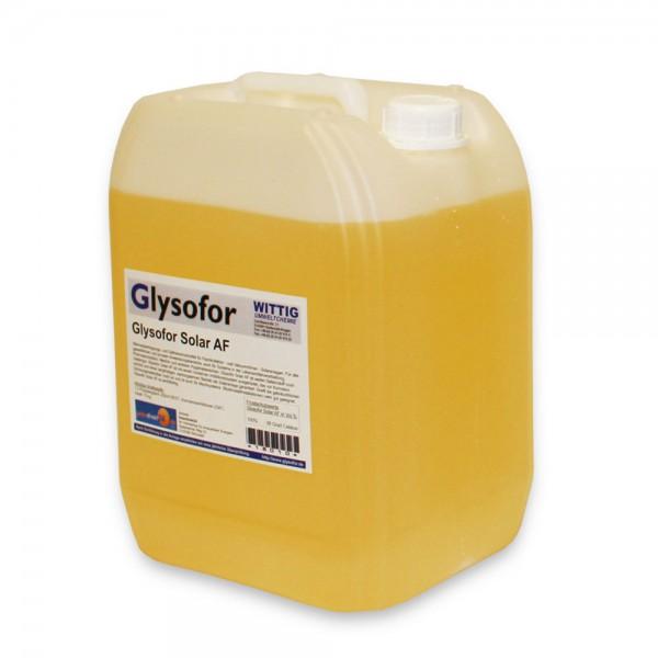 Solarflüssigkeit Glysofor AF -28°C Solarliquid Frostschutz Solaranlage