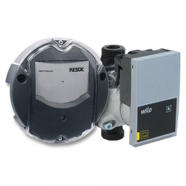 Resol Pumpensignalwandler PSW Premium Set inkl. Yonos Para ST 25/7 – 130 mm