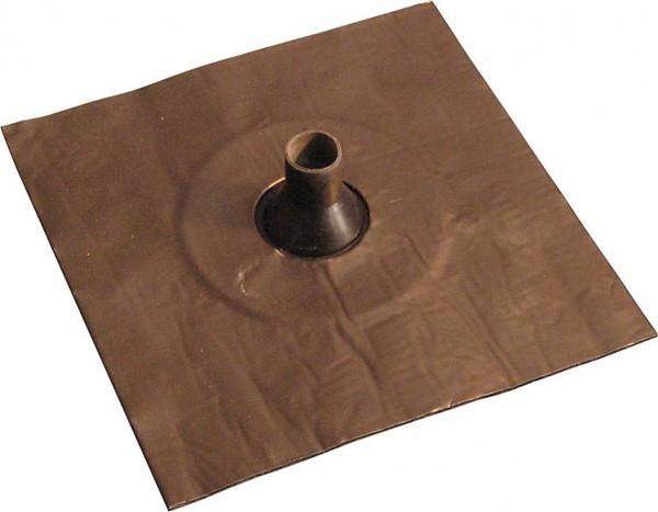 Luftdichtungsmanschette mit Alu-Butyl-Klebekragen 25-32mm