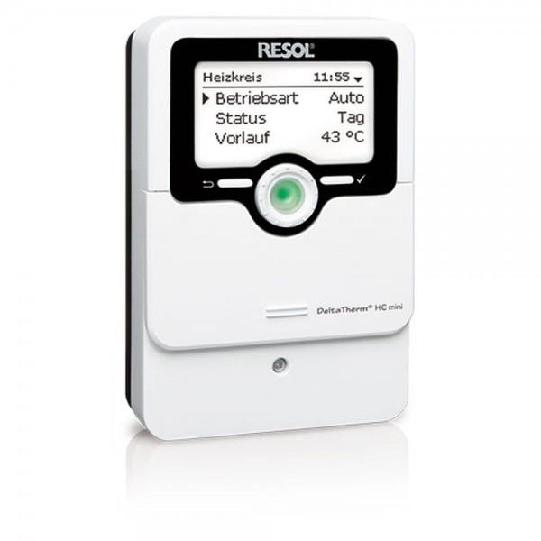 Heizungsregler Resol DeltaTherm HC mini (1 x FAP13, 1x FRP21, 1 x FRP6) – Komplettpaket