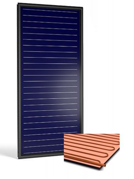 Flachkollektor Sonnenkollektor STI FKF 200V Cu/Cu (2,13 m²)