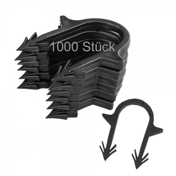 1000 Stück Heizrohrclips Tackernadeln Rohrhalter Fußbodenheizung Tackersystem
