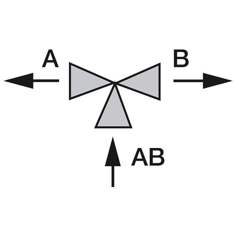 Orkli Zwei-Wege-Zonenventil 3//4 Zoll Au/ßengewinde Solar