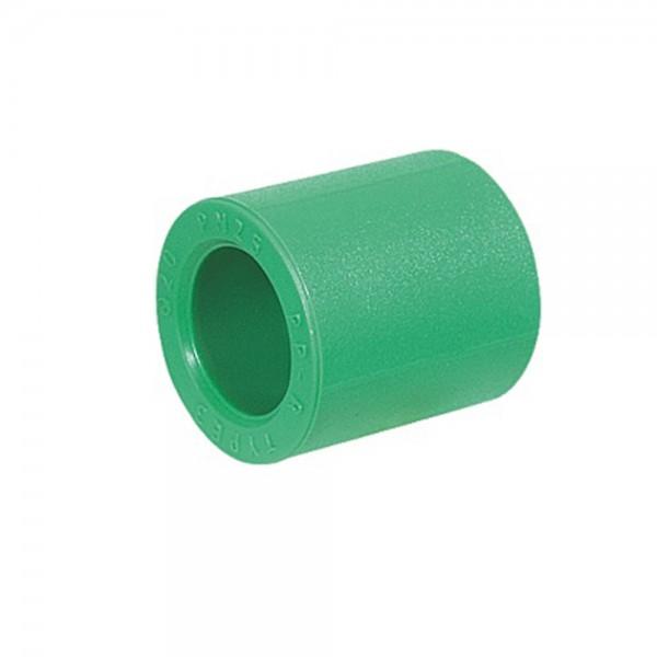 Aqua-Plus - PPR Rohr Muffe, grün