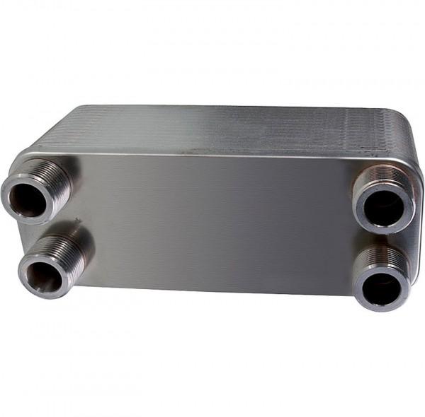 Plattenwärmetauscher - Wärmeüberträger gelötet PT 30-30 inkl. Isolierung
