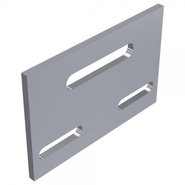 Alu Kreuzverbandplatte Verbinder für Aluprofil Kreuzverbinder Montageprofil