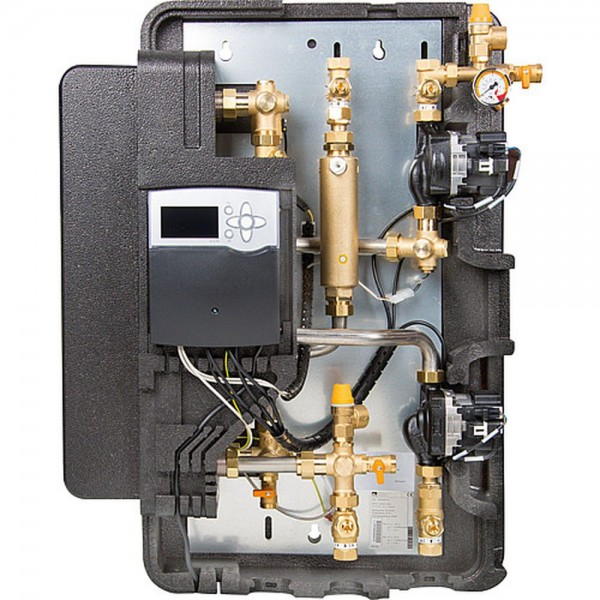 Solar-Trennsystem Solex Mini DN20 inkl. Regelung Delta Sol BX Plus