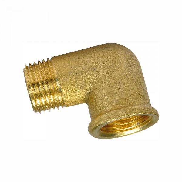 Messing Winkel 90° IG/AG