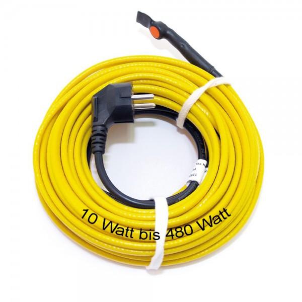 Rohrbegleitheizung 10 - 480 Watt Frostschutz Heizband Heizkabel