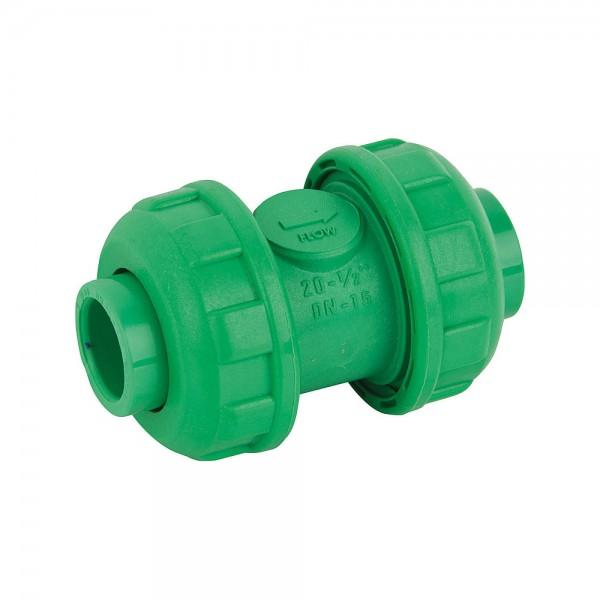 Aqua-Plus - PPR Rohr Rückschlagventil Kunststoff Schweißsysteme 20-40 mm