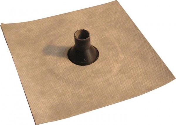 Luftdichtungsmanschette mit Vlies-Butyl-Klebekragen 75-90mm