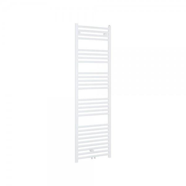 Badheizkörper mit Mittelanschluss, Größe 1250x510mm, weiß - gerade Ausführung
