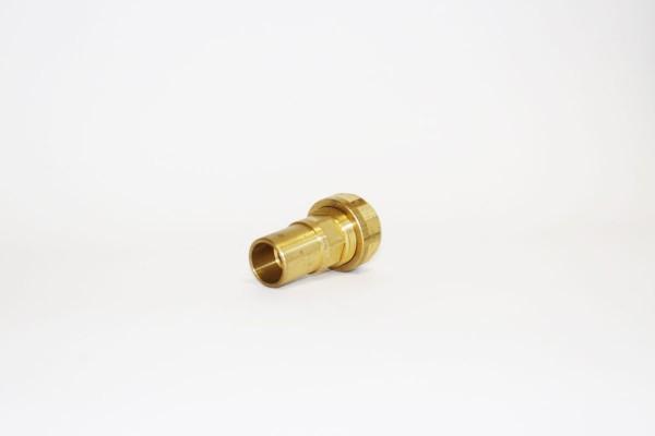 Wellrohrverschraubung DN20x22mm Übergang auf 22mm Stutzen