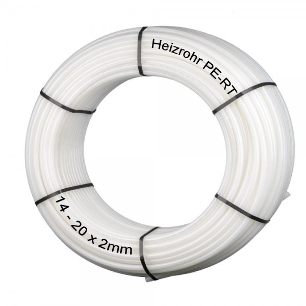 Heizrohr PE-RT 200 oder 600 Meter Fußbodenheizung 5-Schicht Heizungsrohr