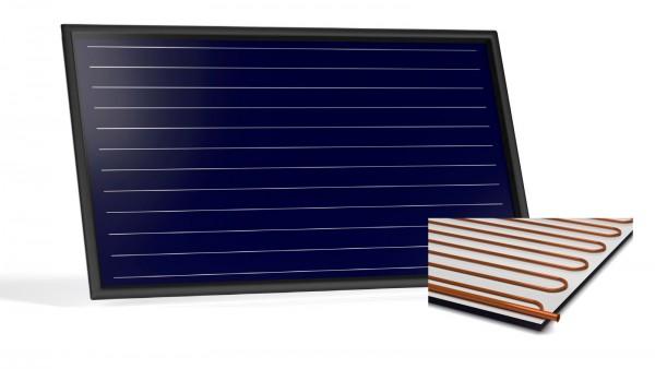 Flachkollektor Sonnenkollektor STI FKF 240H Al/Cu (2,52 m²)