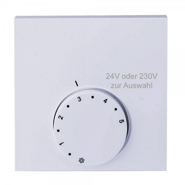 Alpha direct Analog 24V / 230V Raumtemperaturregler Raumthermostat H & HK