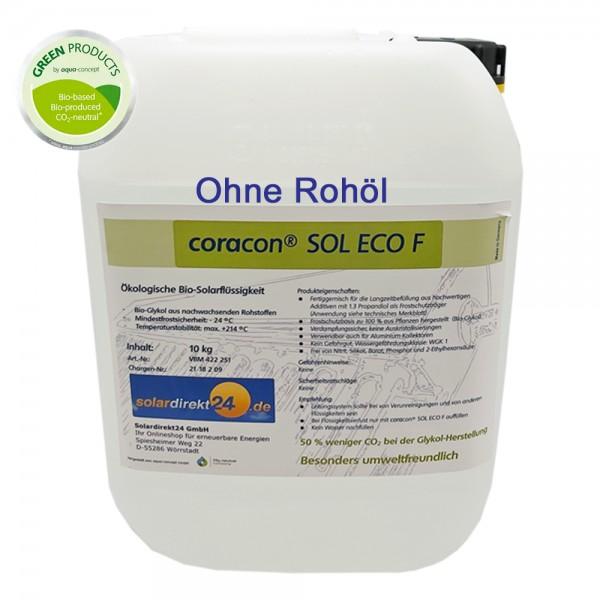 10 - 50 Liter Ökologische Solarflüssigkeit Coracon Sol ECO F - OHNE Rohöl