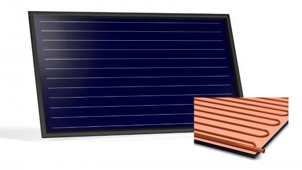 Flachkollektor Sonnenkollektor STI FKF 240H Cu/Cu (2,52 m²)