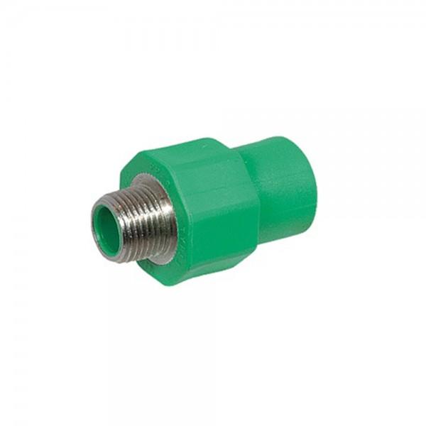 Aqua-Plus - PPR Rohr Kupplung AG, grün