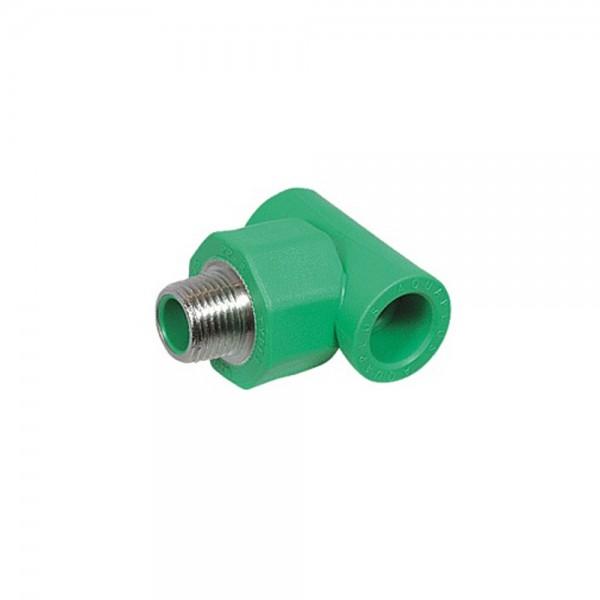 Aqua-Plus - PPR Rohr T-Stück AG, grün